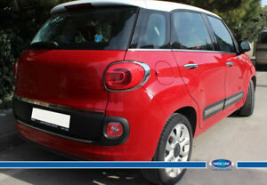 Fit For Fiat 500l Chrome Tailgate Trim Line S Steel 2013 2018