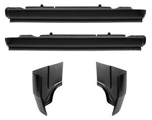 Oe Style Rocker Panel Cab Corner Kit For 72 93 Dodge D Series Pickup Truck