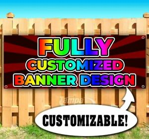 Fully Customized Banner Advertising Vinyl Banner Flag Sign Many Sizes Available