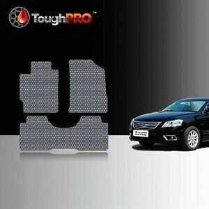 Toughpro Floor Mats Gray For Toyota Camry All Weather Custom Fit 2007 2011