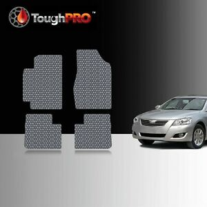 Toughpro Floor Mats Gray For Toyota Camry All Weather Custom Fit 2002 2006