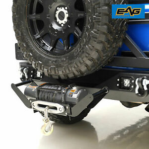 Eag Winch Cradle Mounting Plate With 2 Hitch Receiver 12 000lbs Capacity