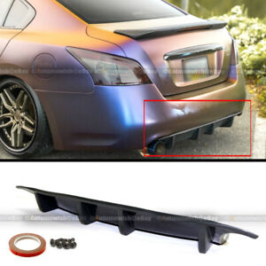 For 7th Gen 09 15 Nissan Maxima St Style Rear Bumper Chin Lip Diffuser Spoiler
