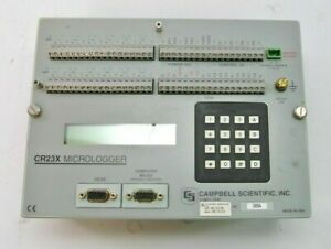 Campbell Scientific Cr23x Datalogger Fully Tested Refurbished W Warranty