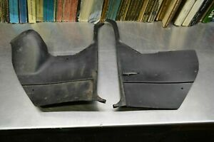 Black Front Kick Panels 1968 1969 1970 Buick Riviera With Ac Air Conditioning Gs