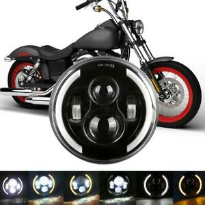 1pc 7 Motorcycle Headlight Led Turn Signal Light For Harley Cafe Racer
