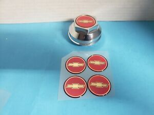 4 Red Gold Bowtie Emblems For The American 200 S Daisy Wheels