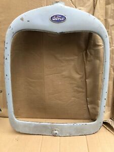 1928 1929 Model A Ford Radiator Shell Grill Grille Original Roadster Trog 28 29