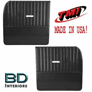 Large Flat Sport Door Panels 1955 1959 Chevy Trucks Tmi Custom Made In Usa