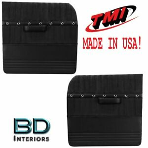 Large Flat Sport Xr Door Panels 1955 1959 Chevy Trucks Tmi Custom Made In Usa