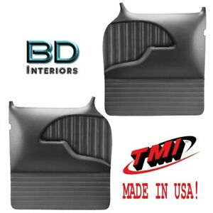 Large Molded Sport Door Panels 1955 1959 Chevy Trucks Tmi Custom Made In Usa