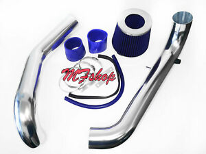 Blue For 1996 2000 Honda Civic 1 6l L4 Cx Dx Lx Cold Air Intake System Kit
