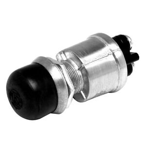 Cole Hersee Push Button Switch Spst Off on 2 Screw W screw on Cap