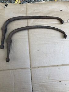 Early 1928 Ar Model A Ford Rear Fender Brackets Braces Roadster Coupe Pickup 27