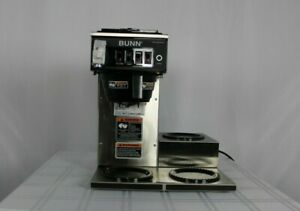 Ding Dent Bunn 12950 0212 Cwtf15 3 Automatic 3 9 Gallons hour Coffee Brewer