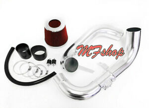 Black Red For 2006 2011 Honda Civic 1 8l L4 Ex Lx Dx Cold Air Intake System Kit