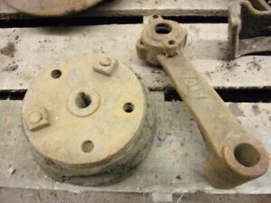 Hart Parr Tractor Fan Friction Hub and Shaft Support