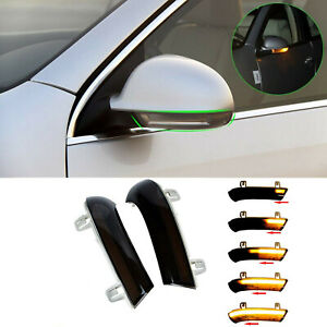 Dynamic Left Right Mirror Turn Signal Light For Vw Golf 5 Jetta Mk5 Passat B6