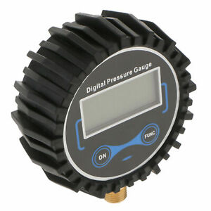 Lcd Digital Tire Inflator With Pressure Gauge 200 Psi Air Chuck
