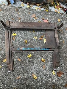 1928 1929 1930 Model A Ford Subframe Closed Cab Pickup Truck Frame Body 30 29 28