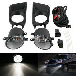 For Toyota Tacoma 2012 2015 Bumper Fog Light Lamp Assembly W Switch Harness Kit