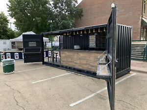 8x20 Shipping Container Bar And Mobile Vending Unit