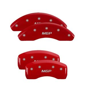 1999 Honda Prelude Base Red Mgp Disc Brake Caliper Covers Front Rear 20103smgprd