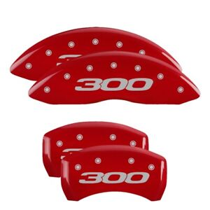 2019 Chrysler 300 L Red Mgp Disc Brake Caliper Covers Frontrear 32020s301rd