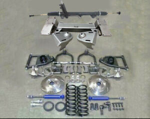 1949 54 Chevy Car Mustang Ii Bolt On Front Suspension Kit Power 2 Drop Slotted