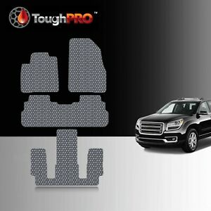 Toughpro Floor Mats 3rd Row Gray For Gmc Acadia Bucket All Weather 2017 2021