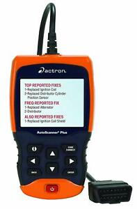 Actron Auto Scanner Plus With Abs Srs Code Connect Obdii Cp9680