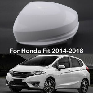 Rear Mirror Cover Cap Housing For Honda Fit Jazz 2014 2018 Left Driver Side