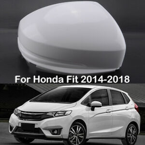 Rear Mirror Cover Cap Housing For Honda Fit Jazz 2014 2018 Right Passenger Side