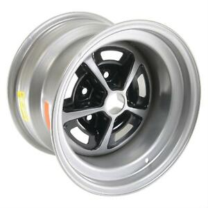 Wheel Vintiques 50 Ss396 Silver With Black Painted Slot Wheel 15 x10 5x4 75