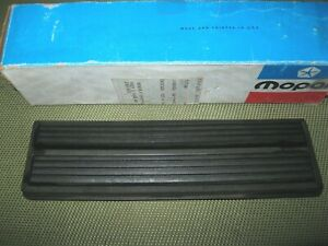 Nos Mopar 1971 Chrysler dodge plymouth C body Brake Pedal Pad