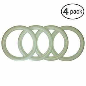 17 Inch Rims Whitewall Portawall Topper Tire Trim Insert Style Set Of 4 Pcs
