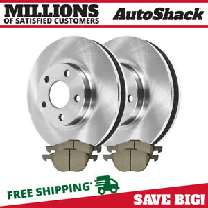 Front Rotors And Metallic Pads For 2013 2014 2015 Ford C Max 2012 2015 Focus