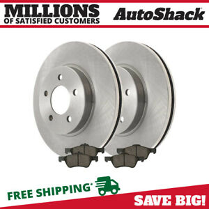 Front Disc Brake Rotors Performance Ceramic Pads Kit For 2005 2010 Ford Escape