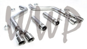 Dual 3 Axle Back Exhaust No Muffler For 15 21 Dodge Challenger 5 7l 6 2l 6 4l
