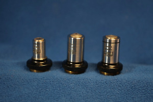 Zeiss Microscope Early Phase Objective Set 10 40 90 Reduced
