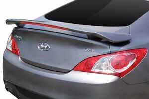 For Hyundai Genesis Coupe Unpainted Spoiler Wing Factory Style 2010 2016