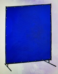 Steiner Portable Welding Screen 6 Wide X 8 Wide Transparent Vinyl One Scree