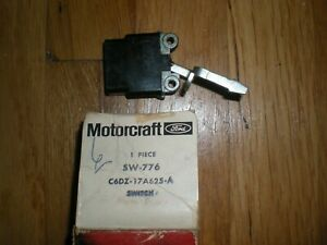 Nos 1966 1967 Ford Falcon Windshield Washer Control Switch C6dz 17a625 A