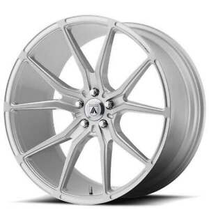 4 20 Staggered Asanti Wheels Abl 13 Vega Brushed Silver Rims b1