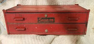 Vintage Snap On Center Intermediate Box With Key