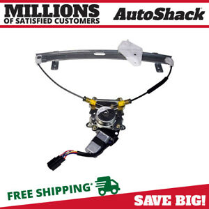 Front Left Power Window Regulator With Motor For 2004 2006 2007 2008 Acura Tl