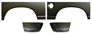 Wheel Arch Bed Quarter Lower Rear Sec Kit 6 Bed For 02 09 Dodge Ram Pickup