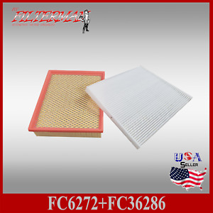 Fa6272 Fc36286 Engine Cabin Air Filter Combo For 2018 Edge Ford Fusion Mkz Mkx