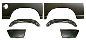 Wheel Arch Outer Wheelhouse 6 Bed Lower Rear Kit For 02 09 Dodge Ram Pickup