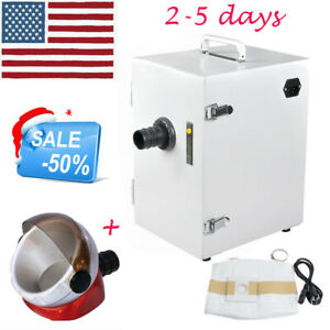 New Dental Lab Digital Dust Collector Vacuum Cleaner Cleaning suction Base Fdace